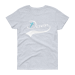 Azaliah Doer Of The Word Ladies Short Sleeve T-Shirt - Grey Heather M