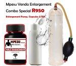 Mpesu Venda Herb Pump Capsules & Free Enlargement Gel Combo Special
