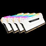 Corsair Vengeance Rgb Pro White Heatsink 16GBX 4 Kit DDR4-3200