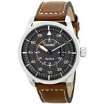 Discountwatches_SA Citizen Men's Aw1361-10h Sport Stainless Steel Watch With Brown Leather Band Parallel Import