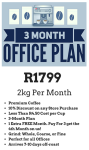 3 Month 2kg Office Subscription