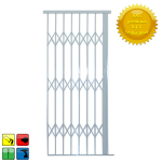 Alu-glide Security Gate - 1000MM White-limited Stock