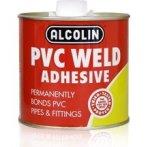 Alcolin Pvc Weld Adhesive 500ML With Brush Applicator 12