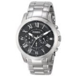 Fossil Men's Fs4736 Grant Stainless Steel Watch Parallel Import