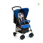 Baby Sport Stroller With Mickey Geo Blue Pattern