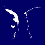 Batman Vs Superman Silhouette White