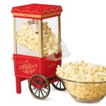 Nostalgic Oil Free Popcorn Machine