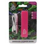 Pro Bass Engine Series 2000MAH Powerbank- Pink