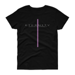 Azaliah Eternity Ladies Short Sleeve T-Shirt - Black S