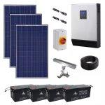 5KVA 4KW Hybrid Agm Solar Power Kit