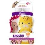 POUCH Snack'n 2-PACK Cheetah Hedgehog
