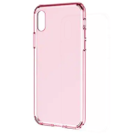ROCK Ultra-slim Dirt-proof Back Cover For Iphone X - Rose Gold