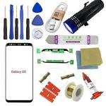 For Samsung Galaxy S8 Screen Replacement Sunmall Front Outer Lens Glass Screen Replacement Repair Kit Galaxy S8 G950 Series Gala