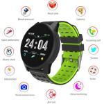 Razorbill Goods Smartwatch Fitness Heart Rate Blood Pressure Gps Waterproof Color-black