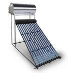 100 Litre Direct Evacuated Tube Thermosiphon Solar Geyser Kit