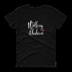 Azaliah Willing Obedient Ladies Short Sleeve T-Shirt - Black S