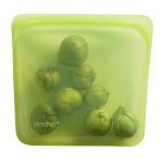 Stasher Reusable Silicone Sandwich Bag in Lime