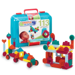 113 Piece Building Set And Case- Bristle Blocks