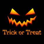 Trick Or Treat Sweater Black