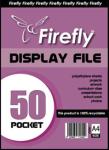A4 Firefly Pocket Flip File 50PG