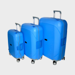 Tosca Guardian 3PC Trolley Set Blue
