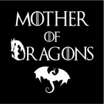 Mother Of Dragons Hoodie Female Black