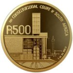 25 Years Of Constitutional Democracy - R500 1OZ 24CT Gold Coin