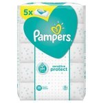 Pampers 15 Packs Sensitive Protect Baby Wipes 56 Wipes pack