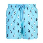 Granadilla Swim Penguins Baby Blue - L