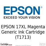 Epson Poppy 17XL Magenta Generic Ink Cartridge T1713