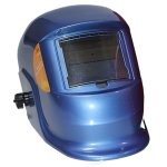 PINNACLE Blue Decasola Auto Darkening Welding Helmet Non-adjustable