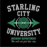 Starling City University Sweater Black