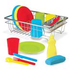 Melissa & Doug Let's Play House Wash & Dry Dish Set default
