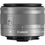 Canon Ef-m 15-45mm F 3.5-6.3 Is Stm Lens Silver