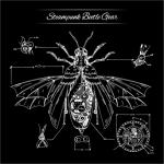 STEAMPUNK Beetle Gear Sweater Black