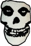 C&D Visionary Inc. The Misfits - Crimson Ghost Skull - Embroidered Iron Or Sew On Patch Badge