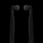 Polaroid Shoelace Earphones Black PSE268 Black