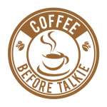 Coffee Before Talkie Logo White