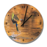 Clock With Bee Eater Image