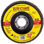 Tork Craft Flap Sanding Disc 115mm 60grit