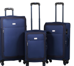 TRAVELWIZE Luggage Polar Series Spinner 3PC Set Navy Blue