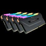 Corsair Vengeance Rgb Pro Black Heatsink 16GBX 4 Kit DDR4-3466