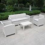 Captiva 5 Seater Patio Sofa Set Grey