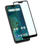 Mrnorthjoe 2PCS Full Screen Coverage Tempered Glass Film For Xiaomi Mi A2 Lite - Black