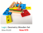 Wooden Geometry Intelligence Set