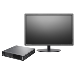 "Lenovo Thinkcentre M73E Intel I5 -4TH Gen- Ultra Tiny Desktop + 20"" Monitor"