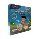 Playmaty 100 Piece Magnetic Building Rod Set