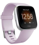 Fitbit Versa Lite Edition Smartwatch in Lilac & Silver