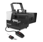 Beamz RAGE1000 Smoke Machine With Wireless Controller