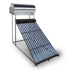 250 Litre Direct Evacuated Tube Thermosiphon Solar Geyser Kit